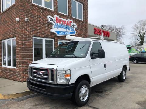 2012 Ford E-Series Cargo E-150 for sale at Bryant Motorsports Auto Sales Inc in Portsmouth VA