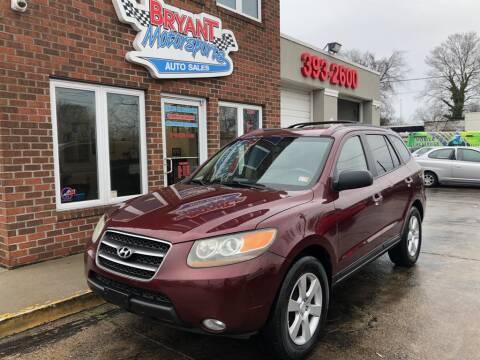 2007 Hyundai Santa Fe Limited for sale at Bryant Motorsports Auto Sales Inc in Portsmouth VA