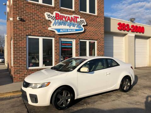 2010 Kia Forte Koup EX for sale at Bryant Motorsports Auto Sales Inc in Portsmouth VA