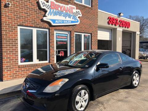 2008 Nissan Altima for sale at Bryant Motorsports Auto Sales Inc in Portsmouth VA