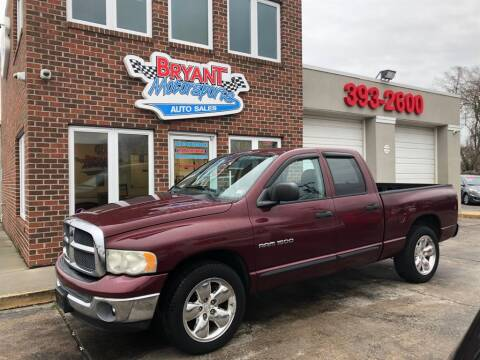 2003 Dodge Ram Pickup 1500 for sale at Bryant Motorsports Auto Sales Inc in Portsmouth VA