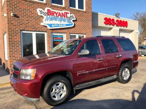 2008 Chevrolet Tahoe LS for sale at Bryant Motorsports Auto Sales Inc in Portsmouth VA