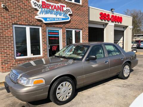 2006 Ford Crown Victoria for sale at Bryant Motorsports Auto Sales Inc in Portsmouth VA