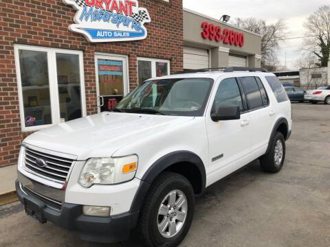 2007 Ford Explorer XLT for sale at Bryant Motorsports Auto Sales Inc in Portsmouth VA