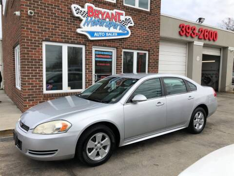 2010 Chevrolet Impala LS for sale at Bryant Motorsports Auto Sales Inc in Portsmouth VA