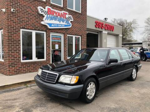 1995 Mercedes-Benz S-Class S 420 for sale at Bryant Motorsports Auto Sales Inc in Portsmouth VA