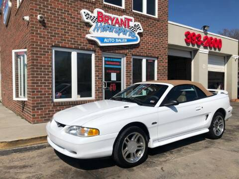 1997 Ford Mustang GT for sale at Bryant Motorsports Auto Sales Inc in Portsmouth VA