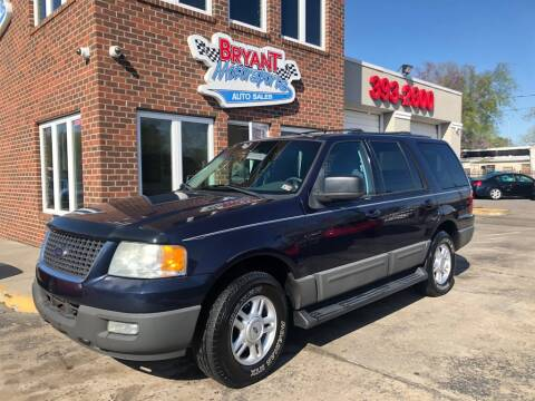 2004 Ford Expedition XLT for sale at Bryant Motorsports Auto Sales Inc in Portsmouth VA