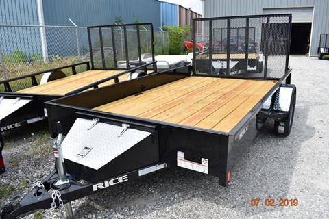 2020 Rice Trailers SST8212 for sale in Aurora, IN