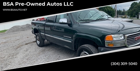 2001 GMC Sierra 2500HD for sale in Hinton, WV