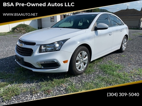 2016 Chevrolet Cruze Limited for sale in Hinton, WV