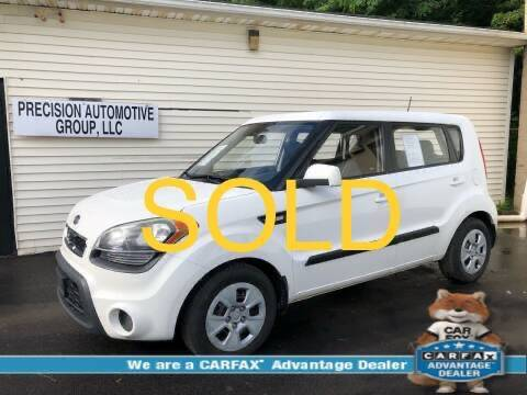 2012 Kia Soul for sale at Precision Automotive Group in Youngstown OH