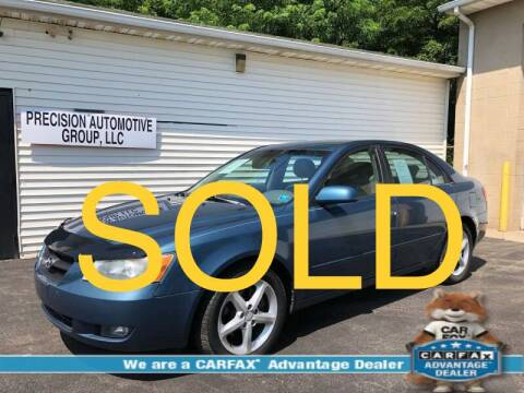 2006 Hyundai Sonata for sale at Precision Automotive Group in Youngstown OH
