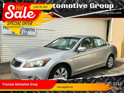 2008 Honda Accord for sale at Precision Automotive Group in Youngstown OH