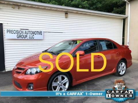 2013 Toyota Corolla for sale at Precision Automotive Group in Youngstown OH