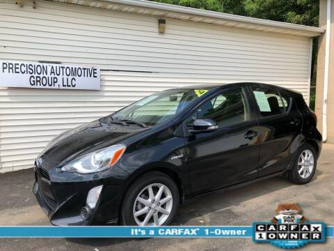 2015 Toyota Prius c for sale at Precision Automotive Group in Youngstown OH