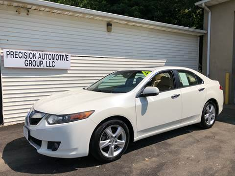 2010 Acura TSX for sale at Precision Automotive Group in Youngstown OH