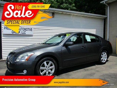 2005 Nissan Maxima for sale at Precision Automotive Group in Youngstown OH