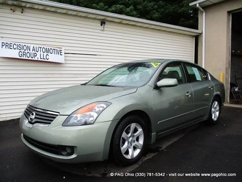 2007 Nissan Altima for sale at Precision Automotive Group in Youngstown OH