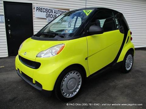 2009 Smart fortwo for sale at Precision Automotive Group in Youngstown OH