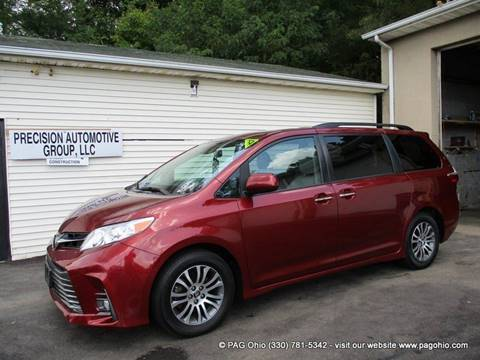 2018 Toyota Sienna for sale at Precision Automotive Group in Youngstown OH