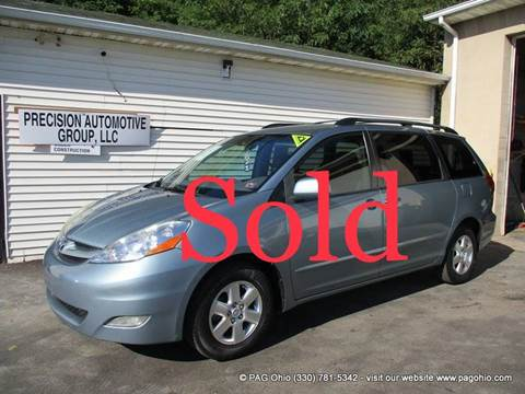 2008 Toyota Sienna for sale at Precision Automotive Group in Youngstown OH