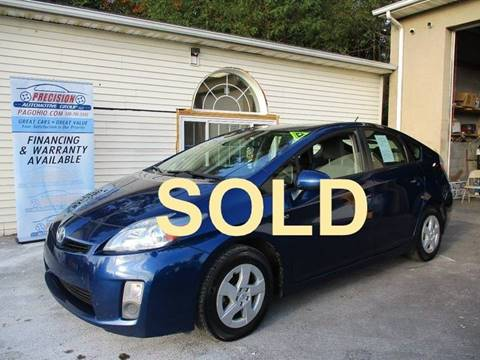 2011 Toyota Prius for sale at Precision Automotive Group in Youngstown OH
