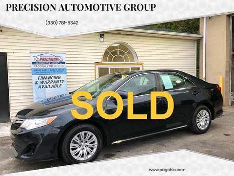 2013 Toyota Camry for sale at Precision Automotive Group in Youngstown OH