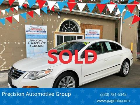 2012 Volkswagen CC for sale at Precision Automotive Group in Youngstown OH