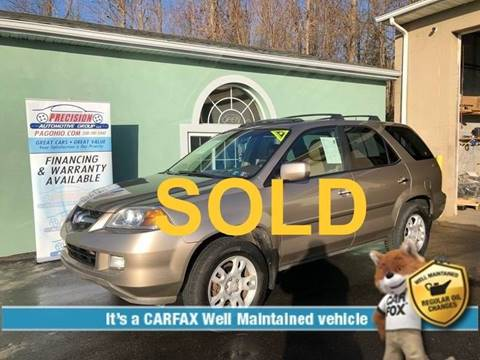 2005 Acura MDX for sale at Precision Automotive Group in Youngstown OH