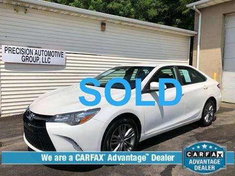 2016 Toyota Camry for sale at Precision Automotive Group in Youngstown OH