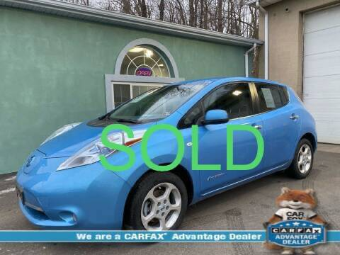 2012 Nissan LEAF for sale at Precision Automotive Group in Youngstown OH