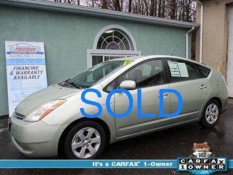 2007 Toyota Prius for sale at Precision Automotive Group in Youngstown OH