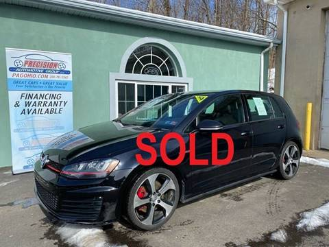 2015 Volkswagen Golf GTI for sale at Precision Automotive Group in Youngstown OH