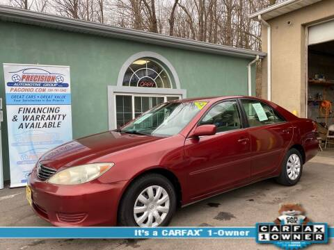 2005 Toyota Camry for sale at Precision Automotive Group in Youngstown OH