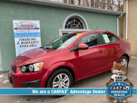 2013 Chevrolet Sonic for sale at Precision Automotive Group in Youngstown OH