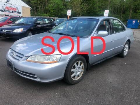 2002 Honda Accord for sale at Precision Automotive Group in Youngstown OH