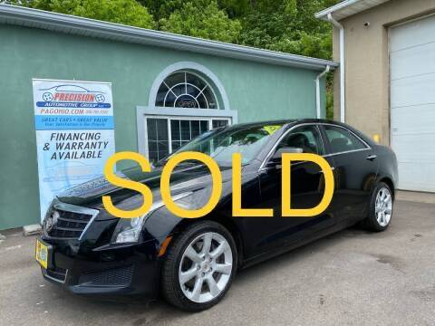 2013 Cadillac ATS for sale at Precision Automotive Group in Youngstown OH
