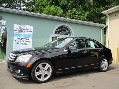 2010 Mercedes-Benz C-Class for sale at Precision Automotive Group in Youngstown OH