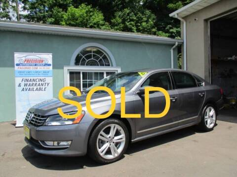 2012 Volkswagen Passat for sale at Precision Automotive Group in Youngstown OH