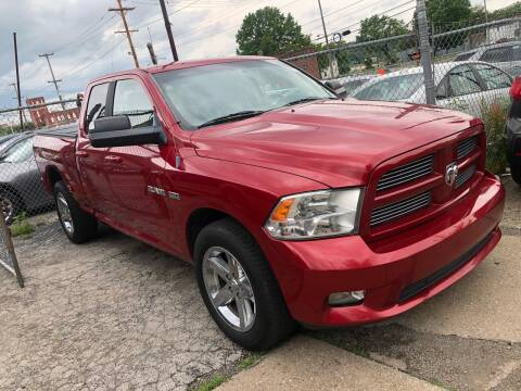 2010 Dodge Ram Pickup 1500 for sale at Precision Automotive Group in Youngstown OH