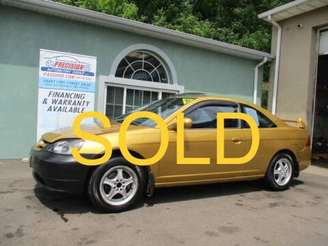 2001 Honda Civic for sale at Precision Automotive Group in Youngstown OH