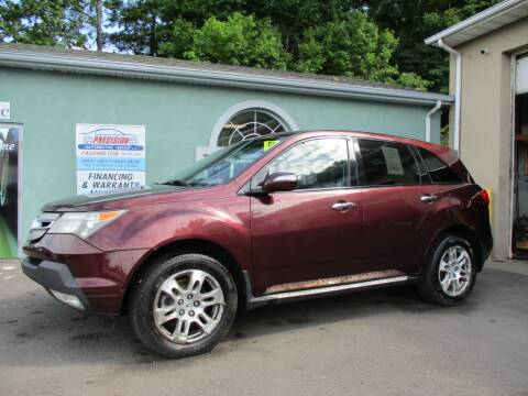 2007 Acura MDX for sale at Precision Automotive Group in Youngstown OH