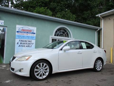 2006 Lexus IS 250 for sale at Precision Automotive Group in Youngstown OH