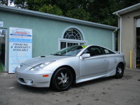 2002 Toyota Celica for sale at Precision Automotive Group in Youngstown OH