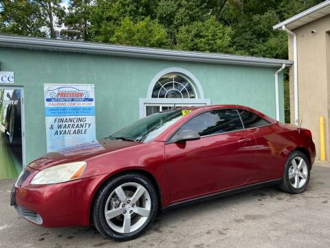 2008 Pontiac G6 for sale at Precision Automotive Group in Youngstown OH