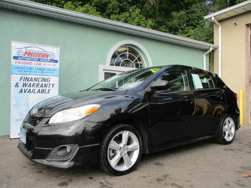2009 Toyota Matrix for sale at Precision Automotive Group in Youngstown OH