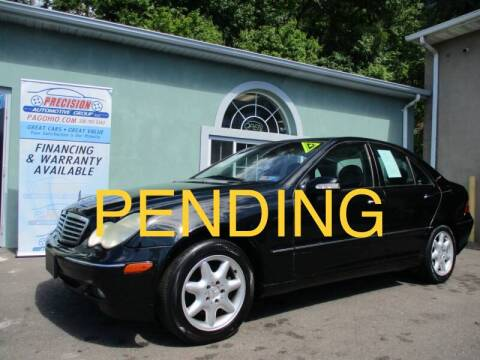 2002 Mercedes-Benz C-Class for sale at Precision Automotive Group in Youngstown OH