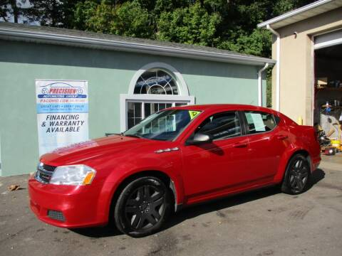 2013 Dodge Avenger for sale at Precision Automotive Group in Youngstown OH