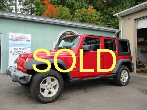 2007 Jeep Wrangler Unlimited for sale at Precision Automotive Group in Youngstown OH